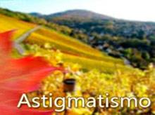 Ejemplo de Astigmatismo. Asi ve una pesona que tiene astigmatismo