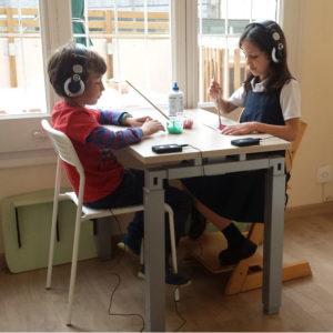 Terapia auditiva realizadas en VISIO3